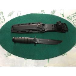 Cuchillo Ka-bar filo combinado